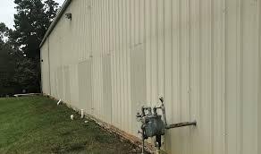 metal building wall roof repairs