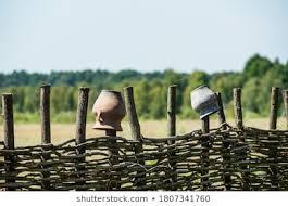 Wicker Fence Images Stock Photos Vectors Shutterstock