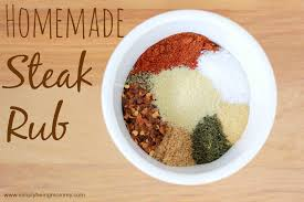 homemade steak rub recipe simply
