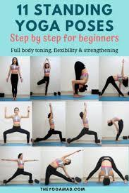 beginner yoga 11 important standing