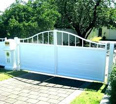 Barrette Vinyl Fencing Fence Gate Kit Installation Post Peoplesempowerment Org