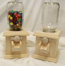 wood candy dispenser m m peanut