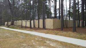 Convex Wood Privacy Fence In Chester Va Fence Scapes Llc