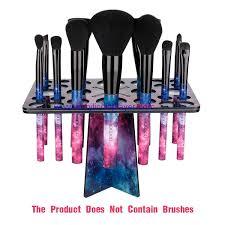 color acrylic makeup brush organizer
