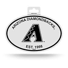 Rico Arizona Diamondbacks Oval Decal Sticker Black And White Car Window Established 1998 Buy Products Online With Ubuy Jordan In Affordable Prices B07fpgdsv8
