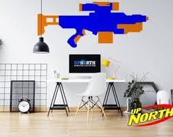 Gun Wall Decal Etsy