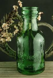 vintage style bottles vases and