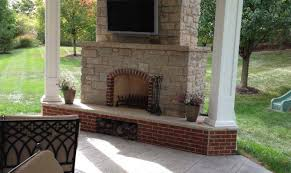 25 deck with fireplace ideas that will