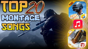TOP 20 PUBG/FREE FIRE MONTAGE SONGS ...