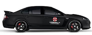2pcs Umbrella Corporation Sticker Decal Buy Online In China At Desertcart