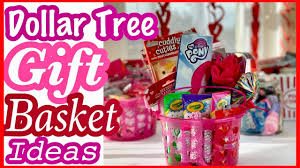 dollar tree gift basket ideas for kids