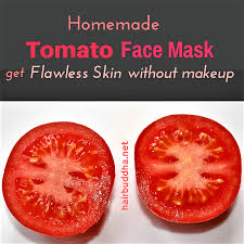 tomato face mask get flawless skin