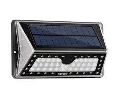 led solar light for pillar or gate