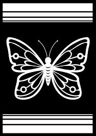 Beautiful Coloured Butterfly Window Sticker Tenstickers