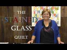 the stained glass quilt tutorial you