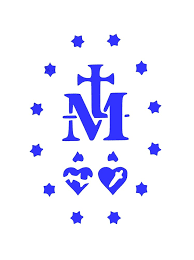 Miraculous Medal Decal Silverstream Priory