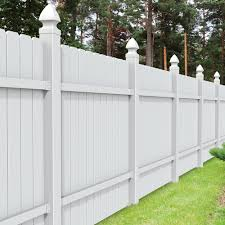 All American Dogear 6x6 Vinyl Fence Panel Vinyl Fence Freedom Outdoor Living For Lowes