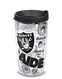 Tervis Oakland Raiders 16oz Tervis All Over Print Tumbler Touchdown Gifts Inc