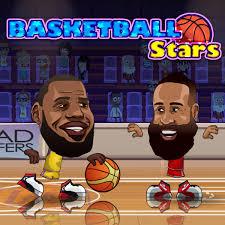 play basketball stars on poki