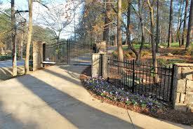 Driveway Security Gates In Atlanta Ga Apex Fence Company