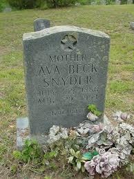 Ava Beck Snyder (1886-1953) - Find A Grave Memorial