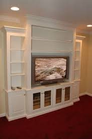 custom entertainment wall unit in love