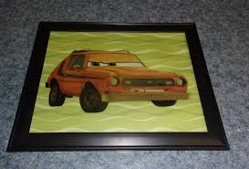 Amc Gremlin Disney Pixar Cars Grem Picture Created Using A Wall Decal Sticker And Scrapbook Paper For The Bac Disney Pixar Cars Gremlins Wall Decal Sticker