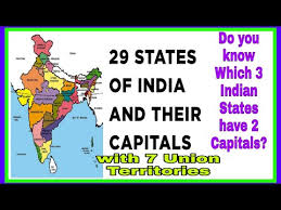 name of 29 states and 7 union