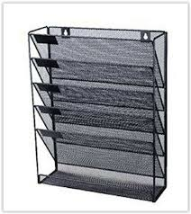 office file organizer rack wall mounted