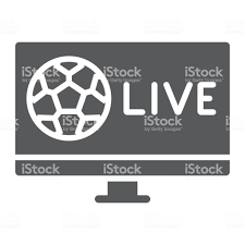 Futbol Tv Glif Simgesi Oyun Ve Oyun Futbol Canlı Işareti Vektör Grafikleri  Beyaz Bir Arka Planda Sağlam Bir Desen Stok Vektör Sanatı & 10 Sayısı'nin  Daha Fazla Görseli - iStock