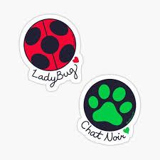 Miraculous Ladybug Stickers Redbubble