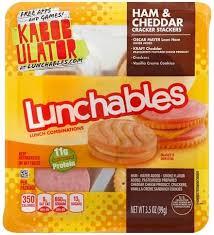 lunchables ham cheddar er