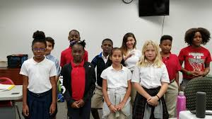 "4-5th grade reciting their poem.. ""My... - Creative Global Schools"