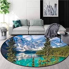 rugsmat landscape super soft circle
