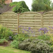 Forest Pressure Treated Europa Domed Fence Panels
