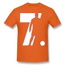 cristiano ronaldo 7 printed shirt men
