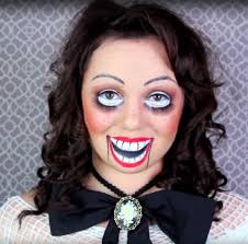 creepy doll makeup for beginners