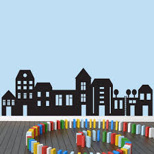 Shop Little City Wall Decal 69 X 22 On Sale Overstock 11158680