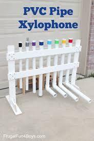 pvc pipe xylophone instrument