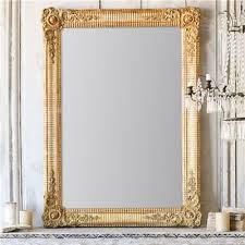 gold antique mirror french worn gilt