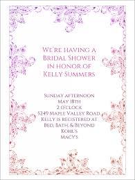 10 bridal shower invitation templates