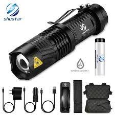 Mini Di Động Glare LED Đèn Pin 5 Chế Độ Chiếu Sáng Đèn LED Xe Đạp Cắm Trại  Sử Dụng Cho Cắm Trại Phiêu Lưu Đi Xe, v. V... đèn pin led torch