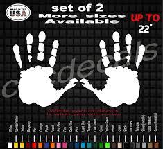 Hand Wave Vinyl Decal Sticker Set Of Two Window Decals Etsy
