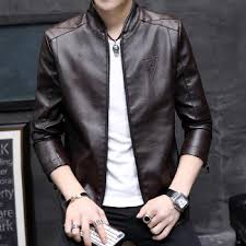 mens leather popular spring autumn new