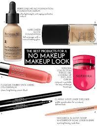 s for a no makeup makeup look