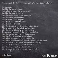 happiness is the truth h quotes writings by gaurav