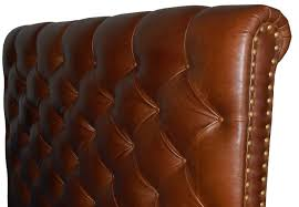 queen size chesterfield headboard deep