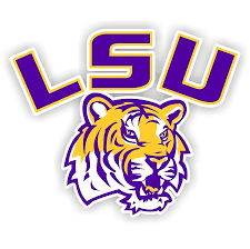 Lsu Louisiana State University Tigers Style C Die Cut Decal Sticker 4 Sizes