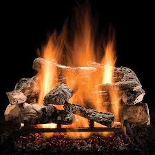 rustic timbers vented 30 gas logs with