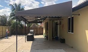patio awning miami